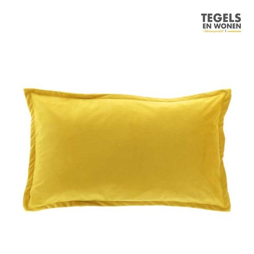 Kussen Kylie Bamboo Yellow 40x60 by Unique Living   Tegels & Wonen